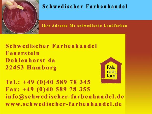 Schwedischer Farbenhandel Hamburg